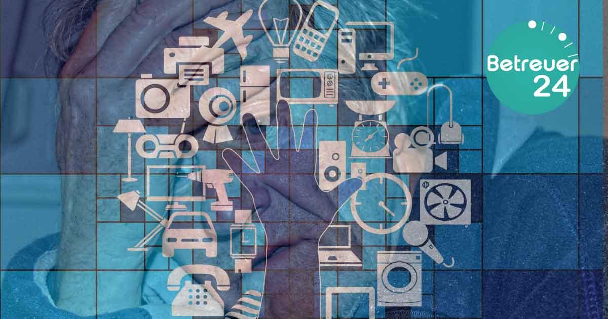 Seniorenbetreuung - Digitale Fertigkeiten für Senioren