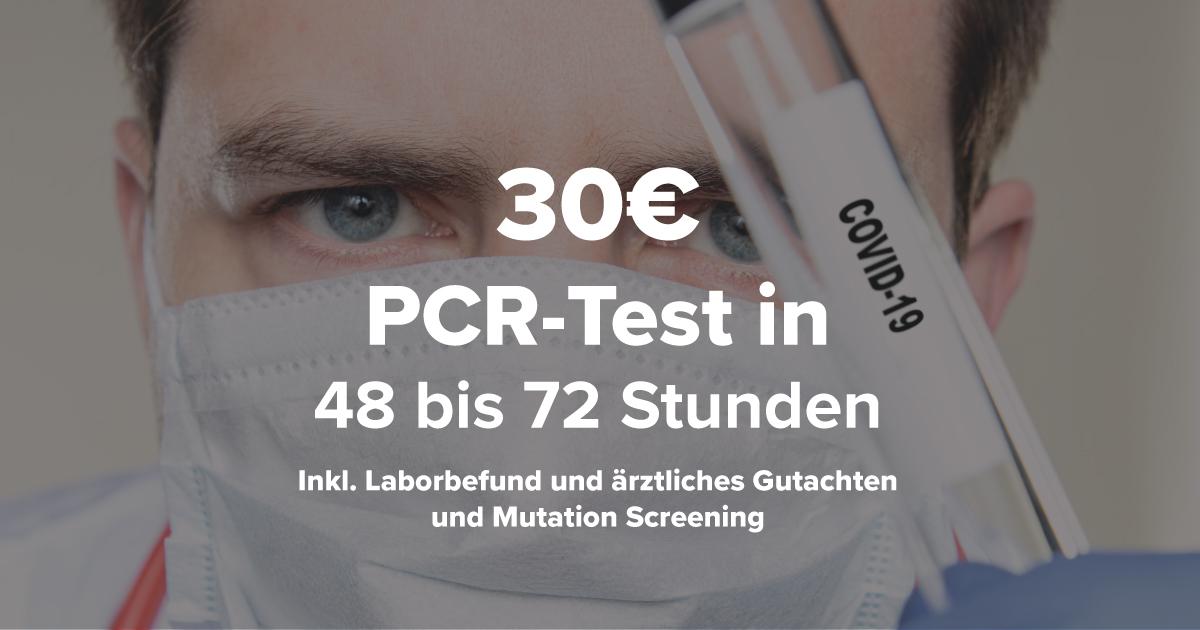 PCR-Test zu Hause